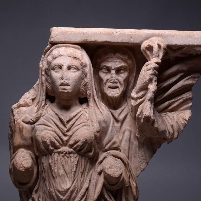Neoclassical Relief from a Mythological Sarcophagus For Sale - Image 3 of 4