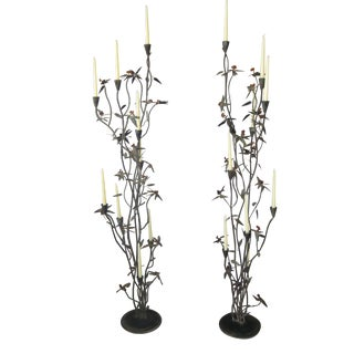 Monumental Candelabra Ala Tony Duquette - A Pair For Sale