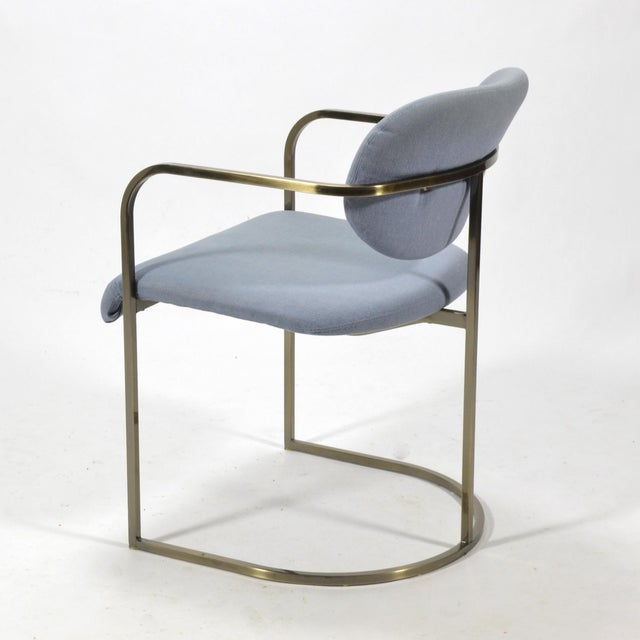 Set of Four Armchairs by Design Institute of America For Sale - Image 9 of 10