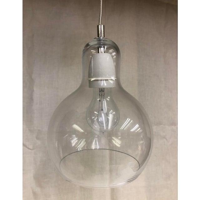 &Tradition Mega Bulb Sr2 Pendant - Showroom Sample Glass bulb pendant designed by Sofie Refer for &Tradition. Hanging...