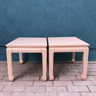 Lacquered Henredon Side Tables Preview