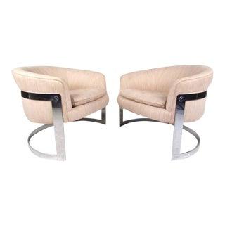Vintage Milo Baughman Club Chairs For Sale