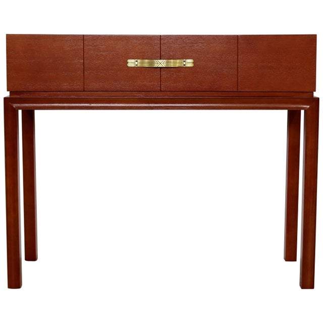Mid-Century Modern Tommi Parzinger for Charak Console Foyer Table, 1950s For Sale - Image 10 of 10
