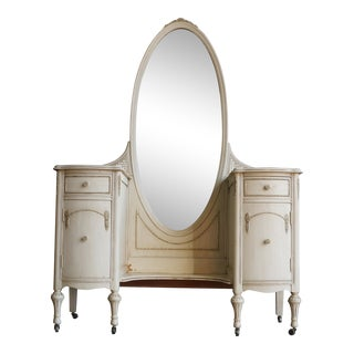 20th Century Shabby Chic Vanity For Sale