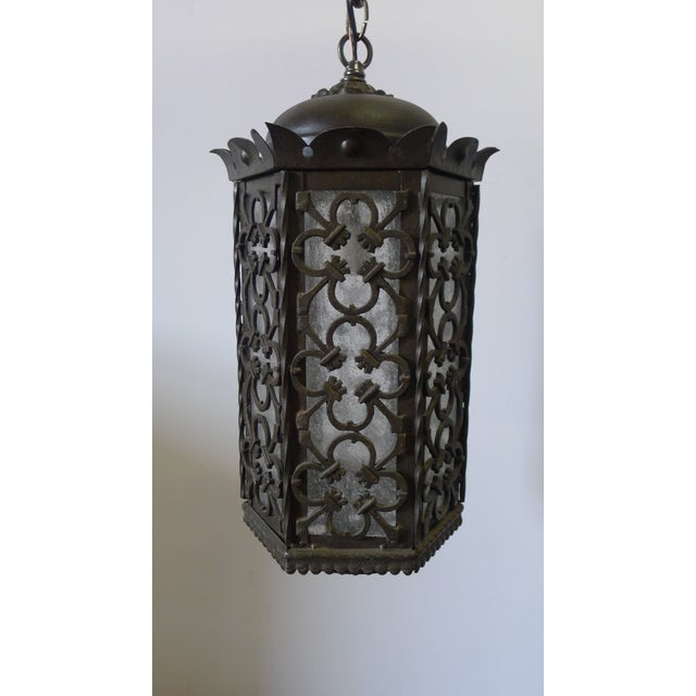 Gothic Style Lantern Pendant For Sale - Image 11 of 11