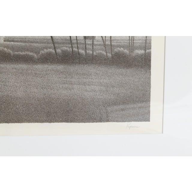 Modern Robert Kipniss, Tual Framed Mezzotint For Sale - Image 3 of 5