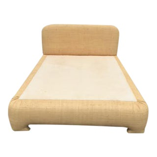 Rattan Queen Size Bed Frame