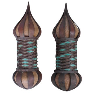 Pair of Sconces by Pepe Mendoza For Sale
