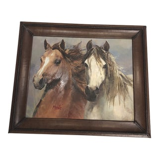 Gladys Morante Horse Painting For Sale