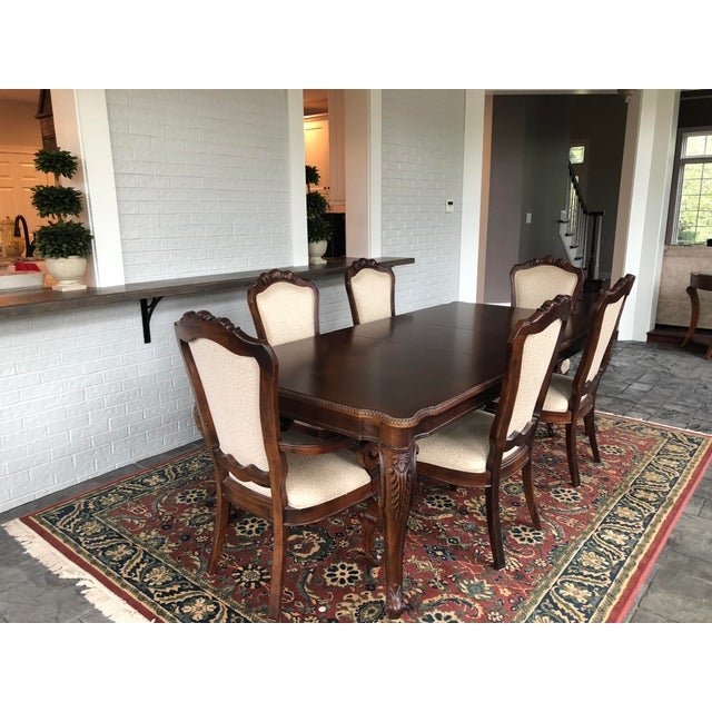 Traditional Dining Room Set: Thomasville Traditional Cherry Dining Room Set