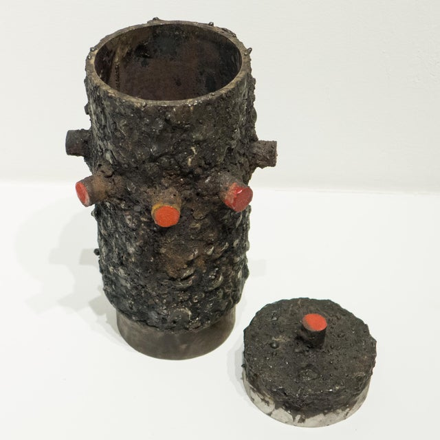 James Bearden Cylindrical Vessel by James Bearden For Sale - Image 4 of 6