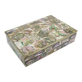 Inlaid Abalone Dresser Box