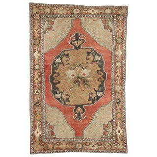 20th Century Turkish Oushak Rug For Sale