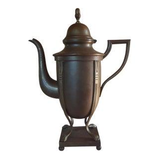 Vintage Brass Teapot