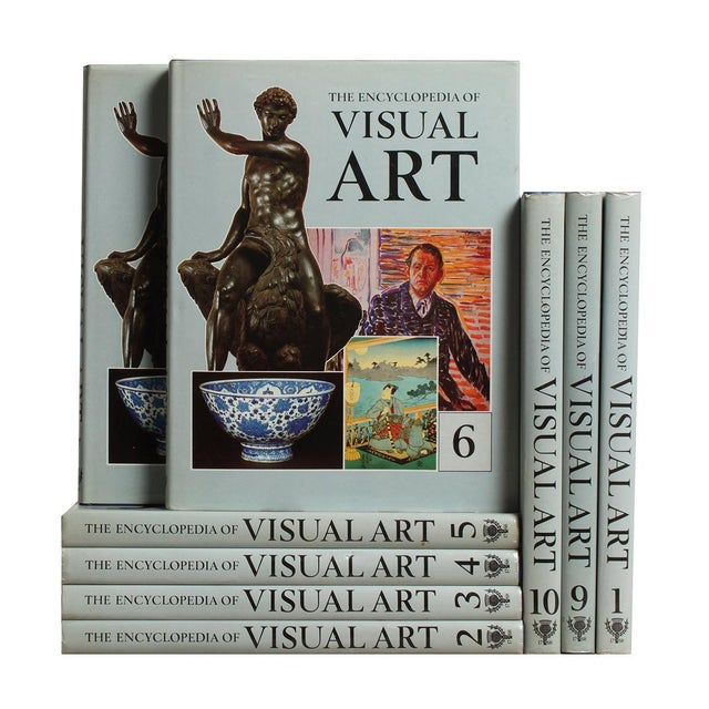 Encyclopedia Of Visual Arts - Set of 9 - Image 1 of 2