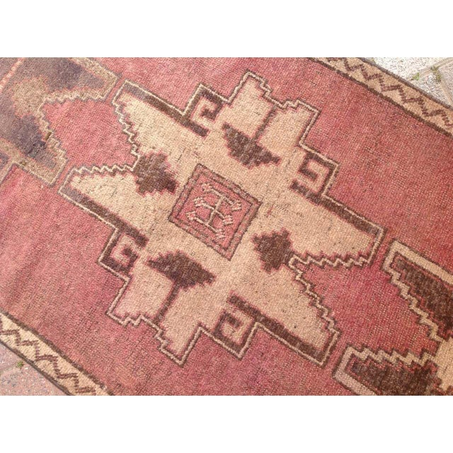 Vintage Hand Knotted Anatolian Runner For Sale - Image 5 of 8