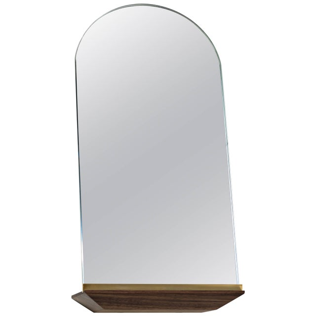 Modern Propped Daily Use Arched Mirror by Phaedo For Sale - Image 3 of 3
