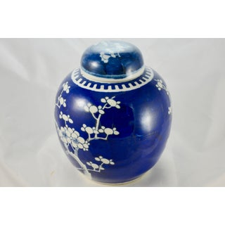 "Blue & White 8"" Prunus Bloom Jar Preview"