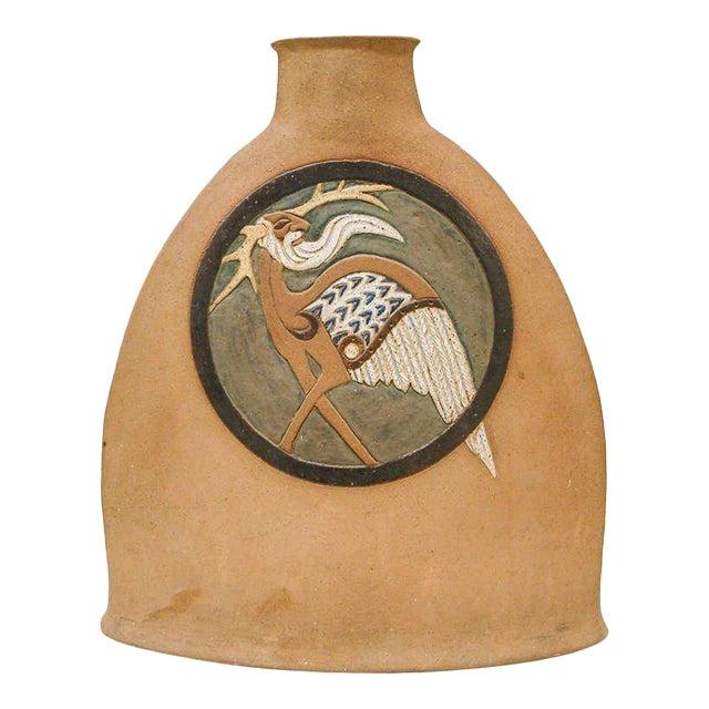 Nittenegger Stoneware Vase For Sale