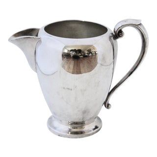 Vintage Art S. Co. Silverplate Water/Drink Pitcher