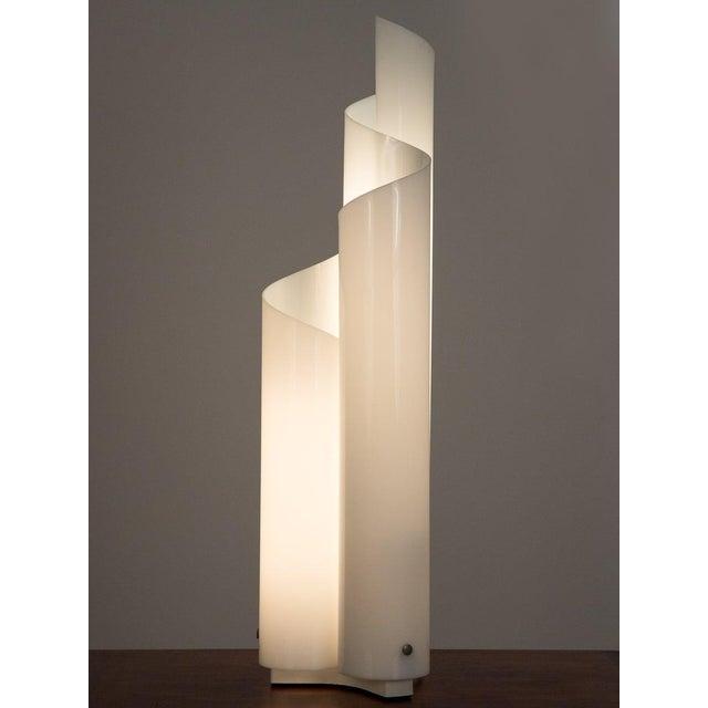 Mid 20th Century Mid 20th Century Vico Magistretti Mezzachimera Lamp For Sale - Image 5 of 11