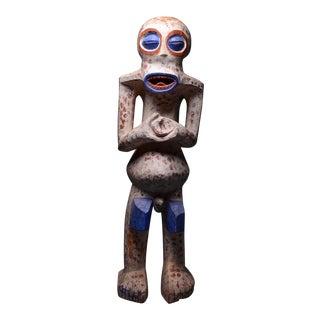 Bangwa Wooden Polychrome Sculpture