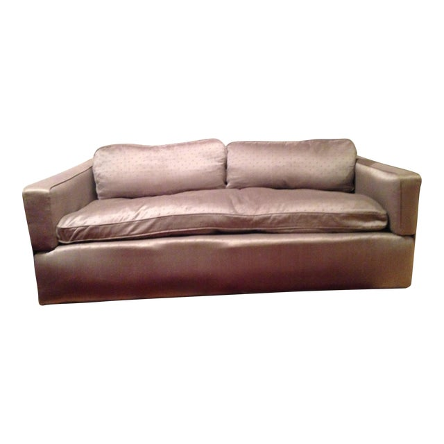Down Filled Twin Size Sleeper Sofa - Image 1 of 11