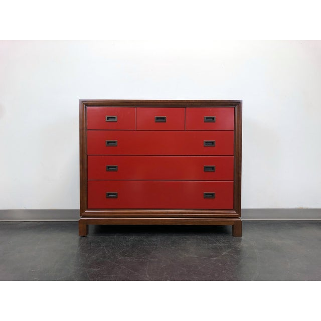 Campaign Style Bachelor Chest by Stanley For Sale - Image 11 of 12