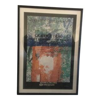 "Robert Rauschenberg ""Grateful Dead"" Suzanne Vega Rainforest Poster For Sale"