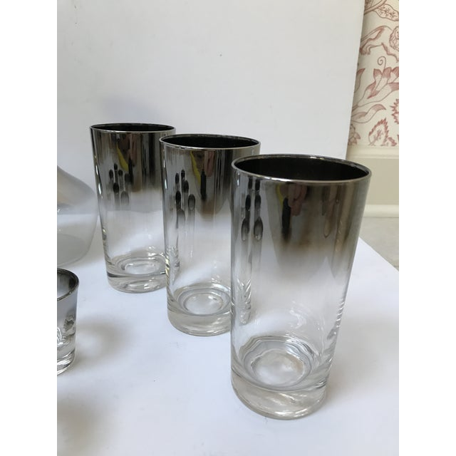 Dorothy Thorpe Style Glasses, Decanter & Shot Glasses - Set of 13 - Image 4 of 6