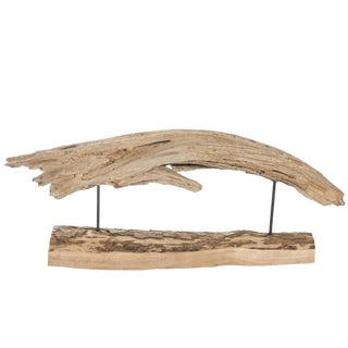 Natural Driftwood Sculpture For Sale