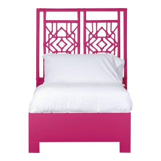 Tulum Bed Twin - Bright Pink For Sale