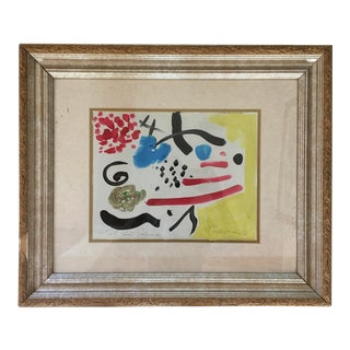 """Abstract Painting, """"Testimmolt"""" by Peter Keil - Framed For Sale"""