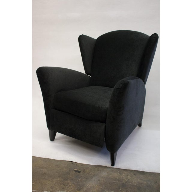 Mid-Century Reclining Wingback Chair - Image 3 of 8