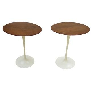 Pair of Saarinen Side Tables For Sale