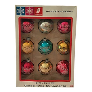 America's Finest Glass Ornaments, S/9 For Sale