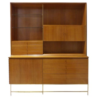 Mid-Century Modern Paul McCobb for Calvin Furniture Breakfront For Sale
