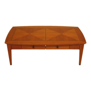 Arts & Crafts Harden 2-Drawer Coffee Table For Sale