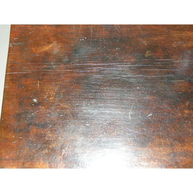 19th Century Lion Foot Carved Nahuala Table with Studs, Carvings and Drawers - Image 4 of 6