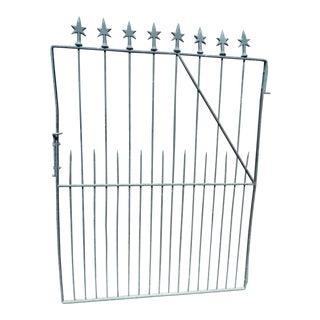 Late 18th Century Vintage Wrought Iron Gate For Sale