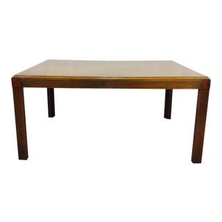 Vintage Mid-Century Parsons Dining Table For Sale
