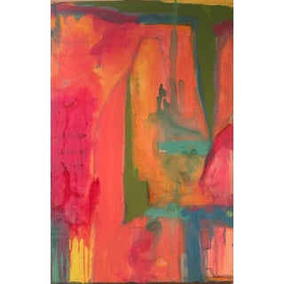 "Abstract ""LOLA"" Painting"