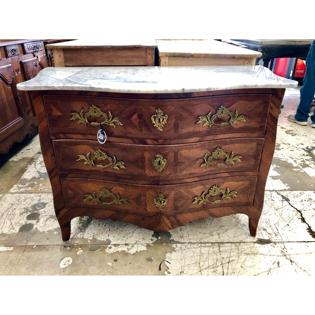 18th Century Period Louis XV French Commode For Sale - Image 10 of 10