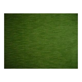 Lee Jofa Seabreeze Leaf Green Cotton Velvet Upholstery Fabric - 3 Yards For Sale