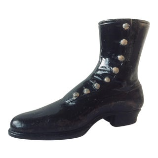 Victorian Mercantile Display Boot For Sale