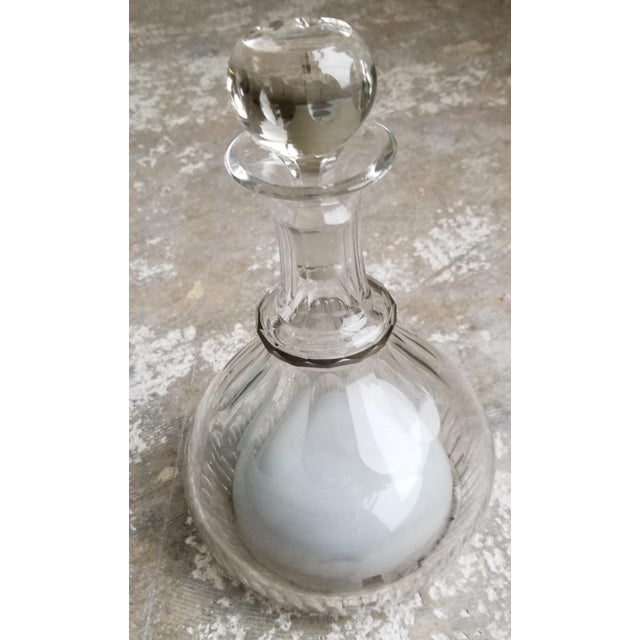 Antique Crystal Musical Decanter For Sale - Image 11 of 11