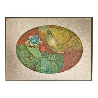 Lithograph by Alvar Sunol Munoz-Ramos For Sale