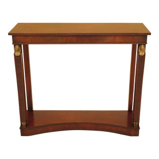 Smith & Watson French Empire Mahogany Peticote Hall Table
