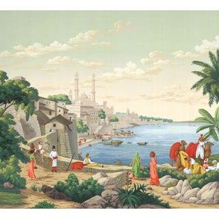 "Casa Cosima Classic Jaipur Mural - 4 Panels 144"" W X 120"" H For Sale"