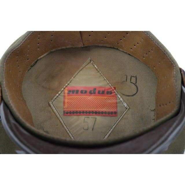 Vintage Polish 3 Stars Military Officer Hat - Image 9 of 9